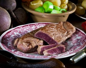 Venison Haunch Steaks