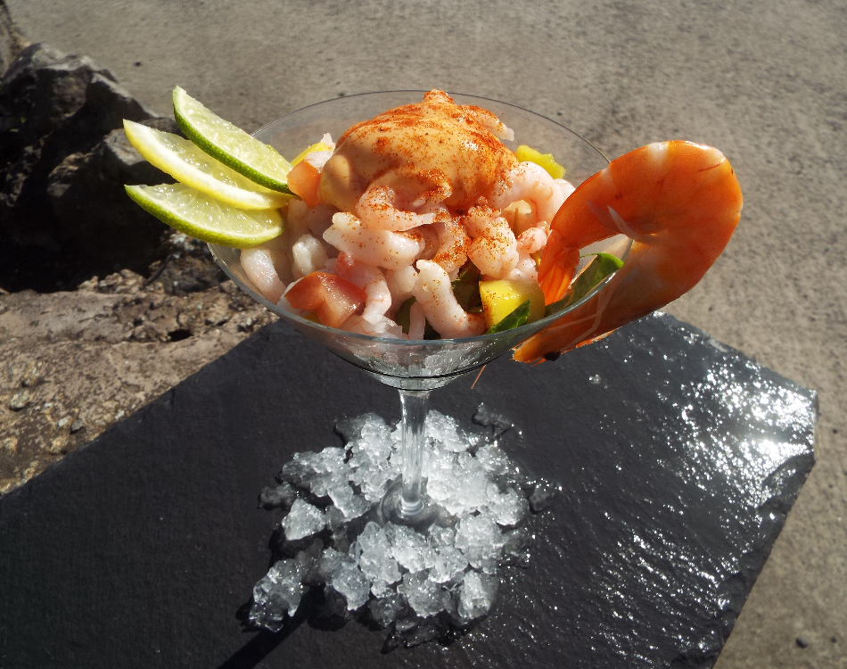 Large Luxury Cocktail Prawns
