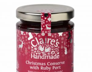 Christmas Conserve with Ruby Port