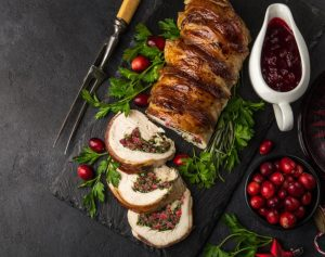 Turkey Breast with Redcurrant Sausage Meat