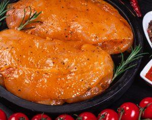 Chicken Fillets in Cajun Seasoning
