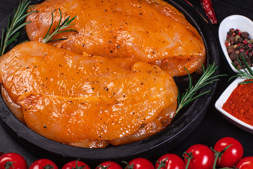 Chicken Fillets in Marinade