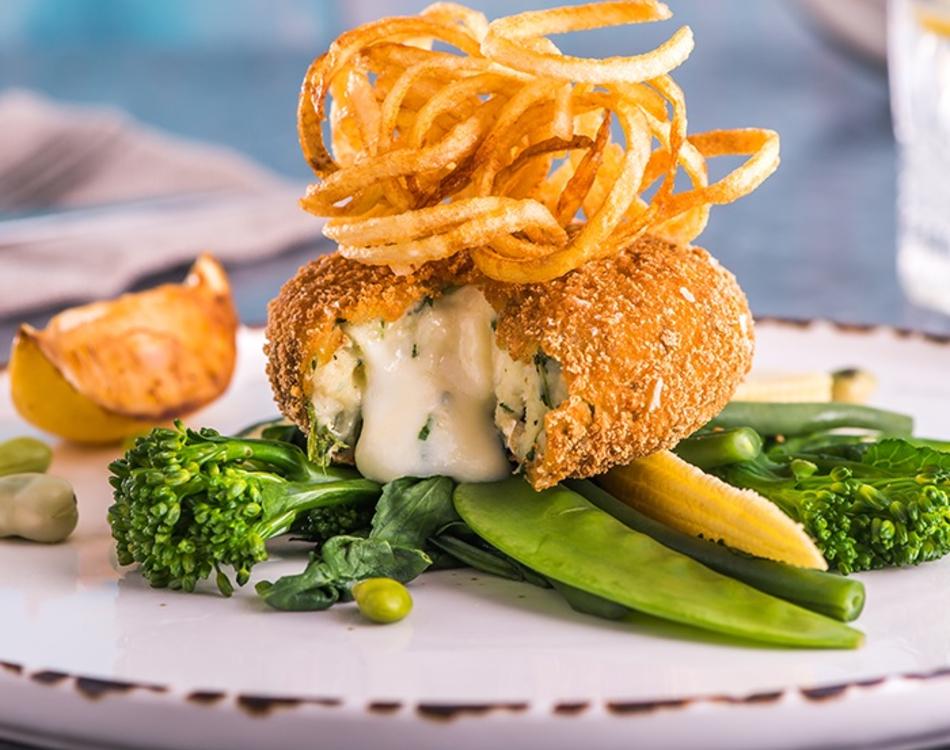 Salmon Haddock and Asparagus Fishcakes (GF)