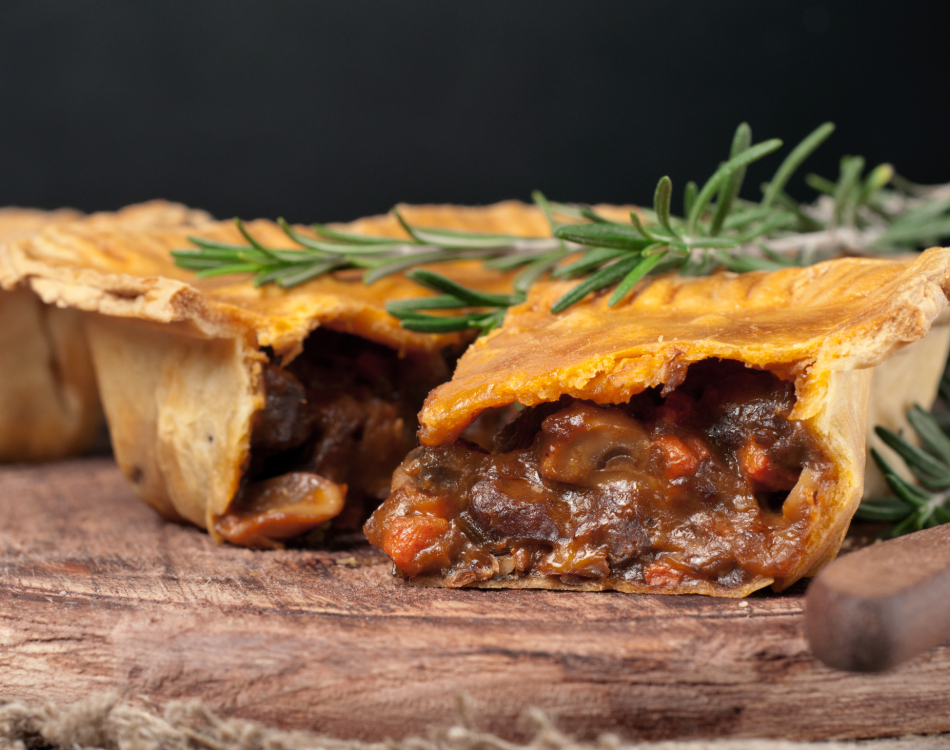Small Partridge Pheasant and Ale Pie