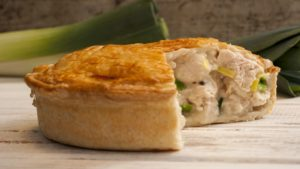Chicken, Leek and Ham Pie